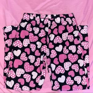 Girls Heart Pajama Pants